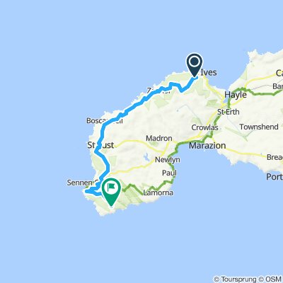 Day 3: St. Ives - Porthcurno