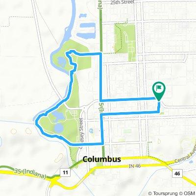 Radwege und Routen in und um Columbus   Bikemap - Deine ...