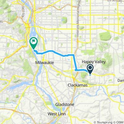 Club Sunnyside to Oaks Park Ride