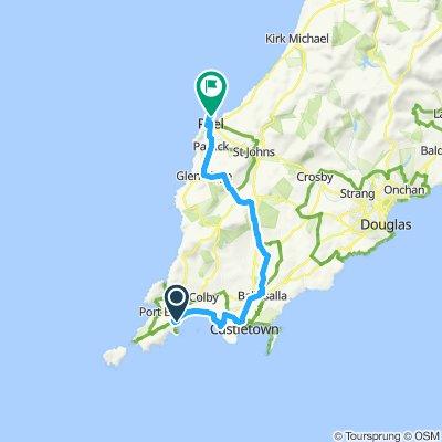 St Patrick's Isle ride