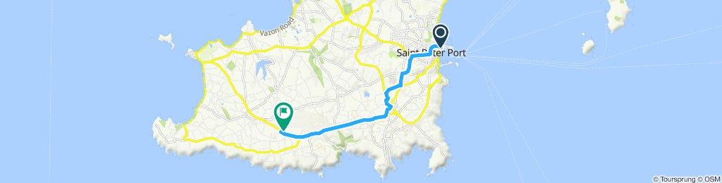 Moderate route in Saint Pierre du Bois