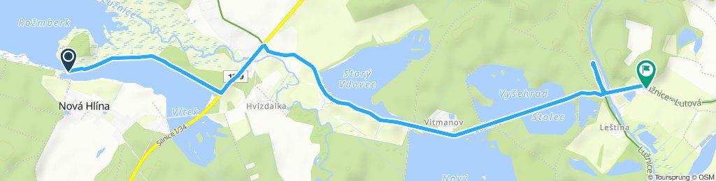 Stredná trasa Třeboň