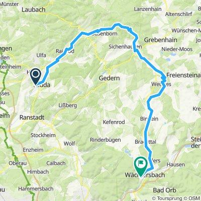 2019 07 09   Nidda - Hoherodskopf - Wächtersbach