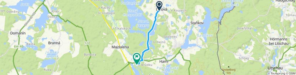 Stredná trasa Hamr