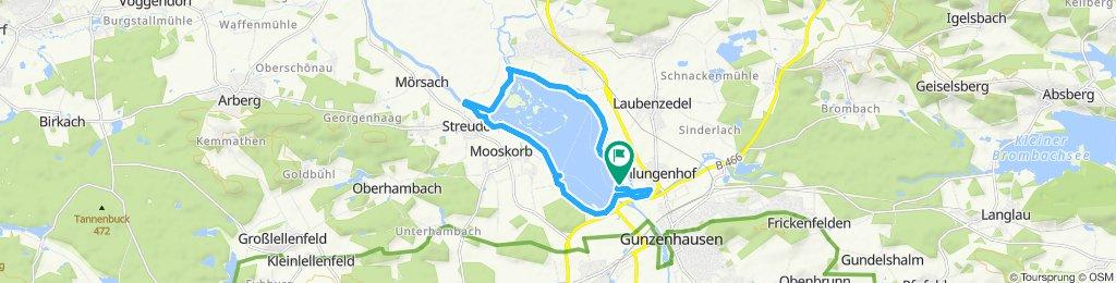 Gemütliche Route in Gunzenhausen