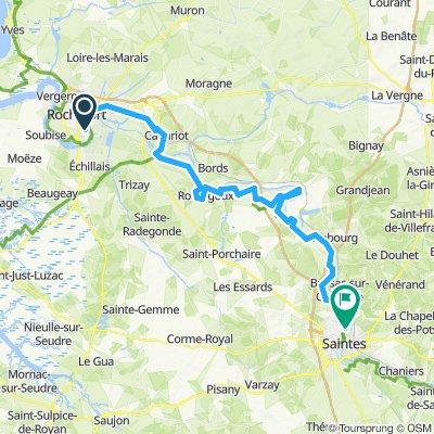 Tour de Base - Étape 4 (Rochefort > Saintes, via La Flow Vélo)