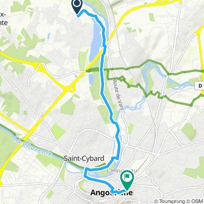 Jonction (Saint-Yrieix-sur-Charente >< Angoulême)