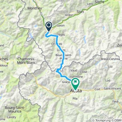 Martigny-Aosta