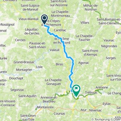 Tour de Base - Étape 9 (Saint-Félix-de-Bourdeilles > Périgueux)