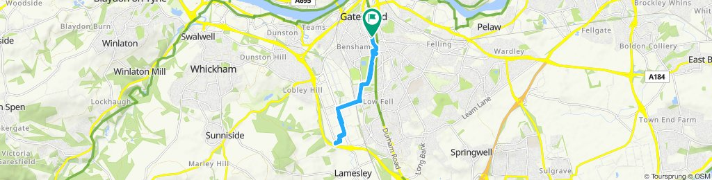 Easy ride in Gateshead