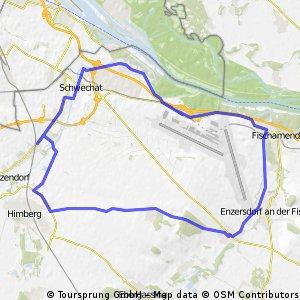 L -rauchenwarth-Schwadorf-Fischamend-Mannswörth-L