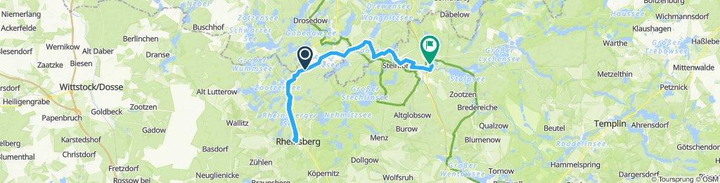 MÜR 003: Schleuse Wolfsbruch - Fürstenberg/Havel