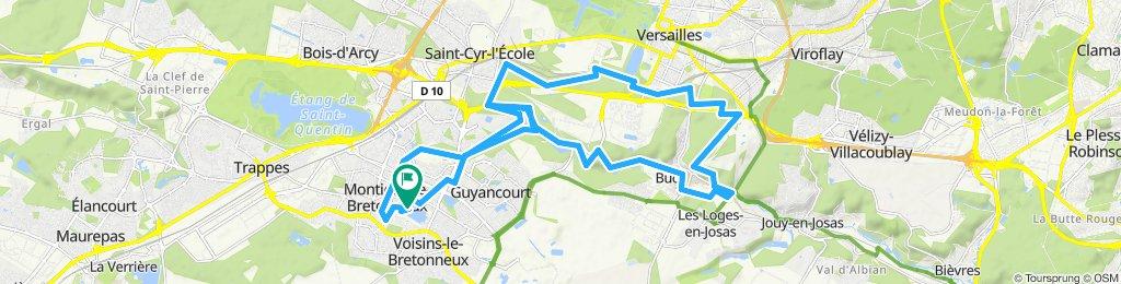 Itinéraire modéré en Montigny-le-Bretonneux