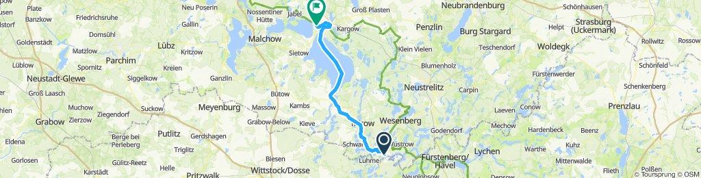 MÜR 005: Schleuse Canow - Marina Eldenburg