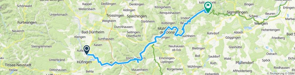 Danube: 1. Donaueschingen to Neumuhl