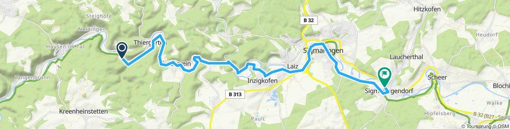 Danube: 2. Neumuhl to Sigmaringendorf (train to Munderkingen)