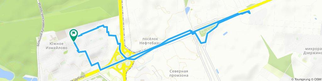 Пустая велопрогулка в ТЦ Идея в Балашихе (мкрн ЦОВБ) 13 07 2019
