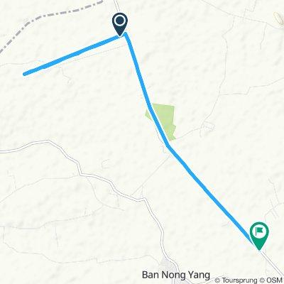 Easy ride in Noen Kham