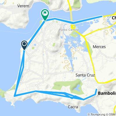 Goa IM Practice Route