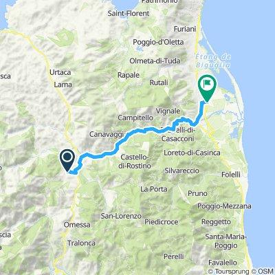 Tour de Corse - 8ème étappe bis