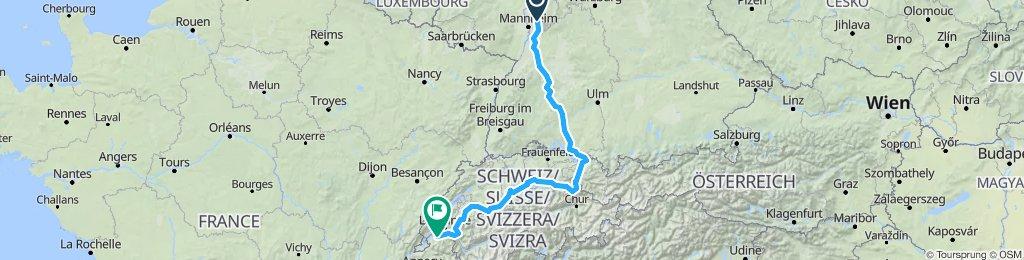 Weinhein - jez Bodenskie - Thonon 1