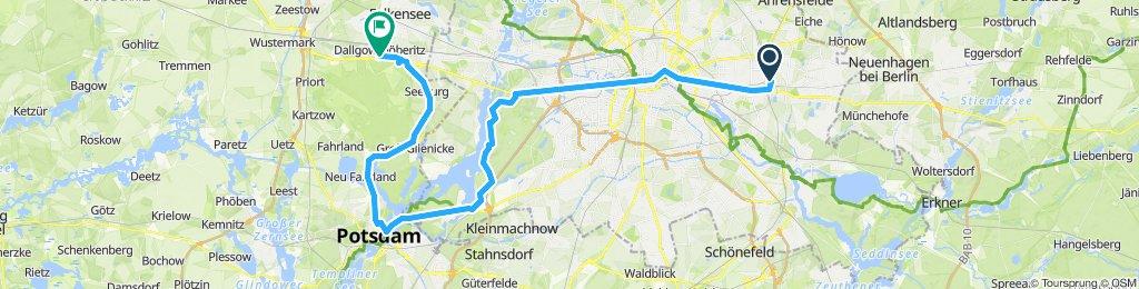 Biesdorf - Potsdam - Dallgow  Döberitz