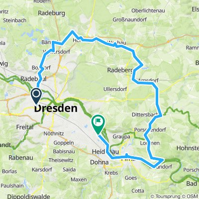 Tour nach Kleinzschwitz