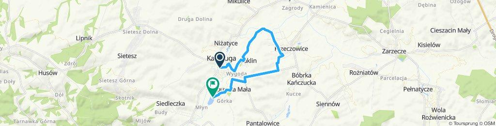 """(11 km) I Rodzinny Rajd Kańczucki 31.08 """"Dystans Mini"""""""