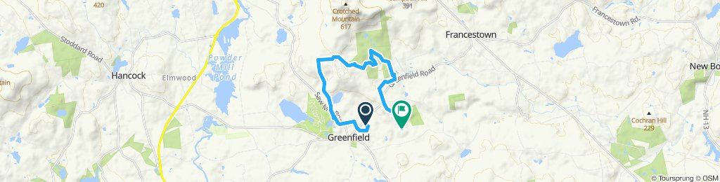 Steady ride in Greenfield