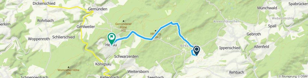 Einfache Fahrt in Henau