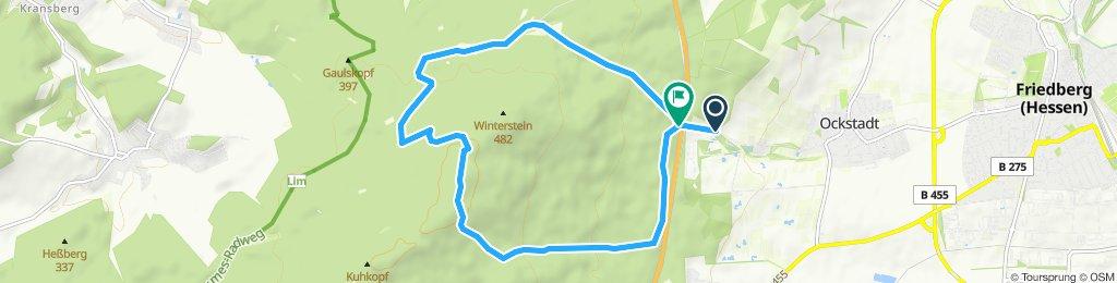 Winterstein runde mit Flowtrail