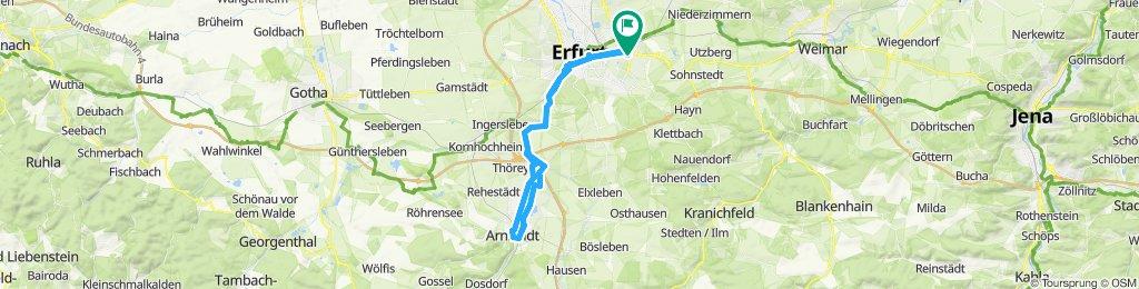 Erfurt _ Arnstadt _Erfurt