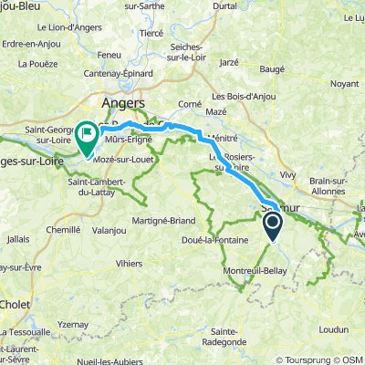 Day 12 - Saumur to Rochefort s/Loire