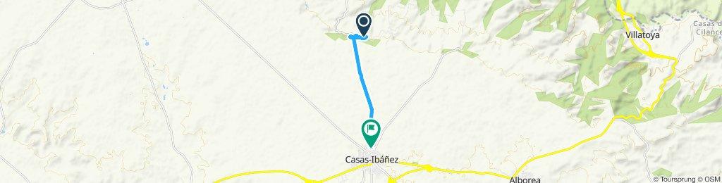 Ruta lenta en Casas-Ibáñez