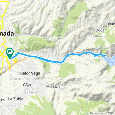 Granada-Pantano de Canales-Granada