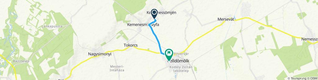 Slow ride in Celldömölk