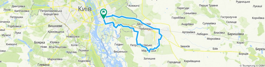 Крутим педали ~70 км