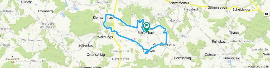Echsenbach Katastralgemeindenrunde