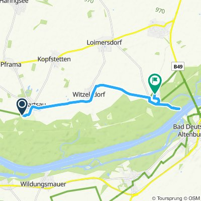 Steady ride in Stopfenreuth
