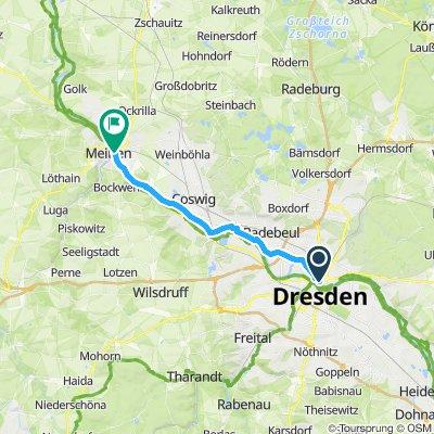 2019 01 02 Dresden - Berlin   Etappe 1
