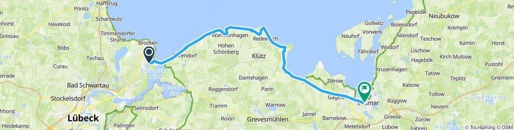 Slow ride in Wismar