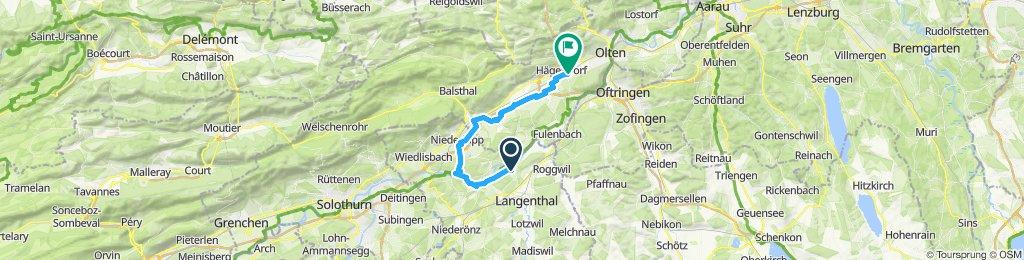 Moderate Route in Hägendorf