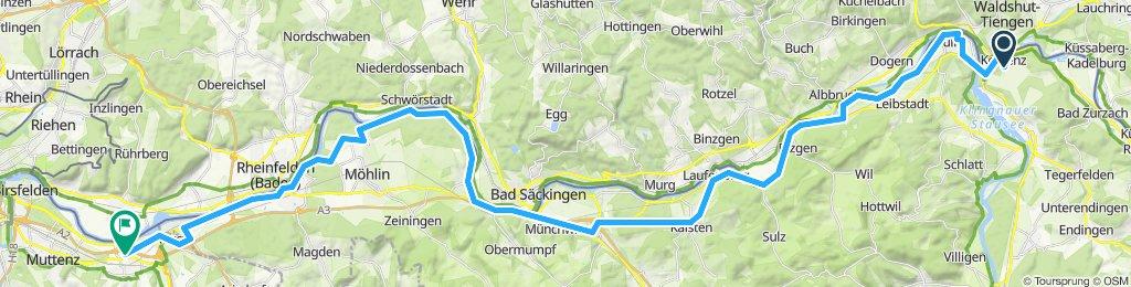 Rhein 2019 2. Etappe