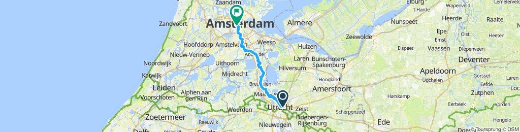 Köln - Amsterdam Tag 6