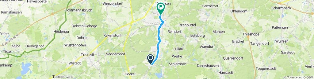 Gemütliche Route in Buchholz in der Nordheide