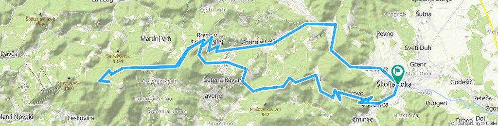 Easy ride in Škofja Loka