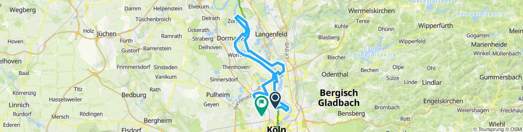 Köln - Zons Rheintour