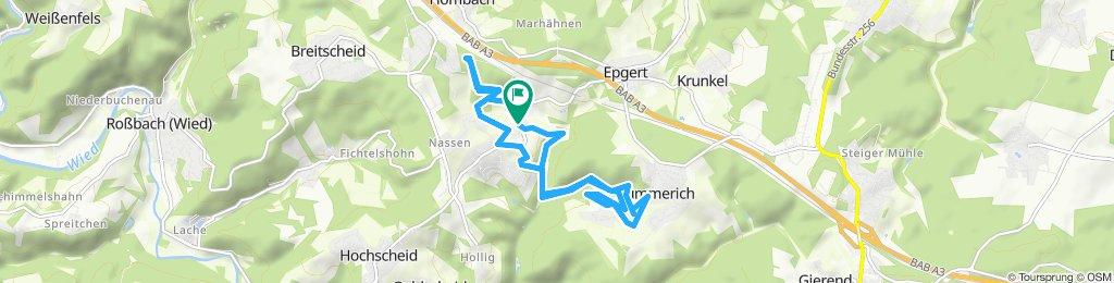 Einfache Fahrt in Breitscheid