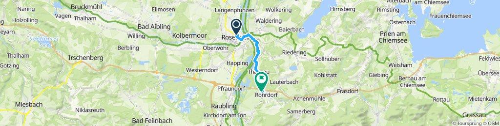 Rosenheim nach Rohrdorf