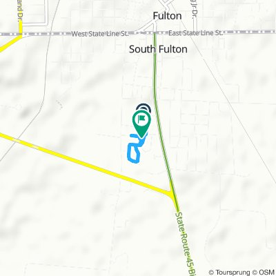 Moderate route in South Fulton